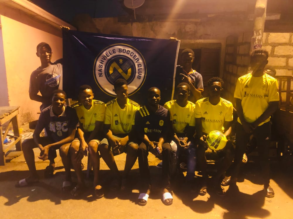 @NashvilleSC we need your attention here. The strongest backliners in Africa.  We are growing everyday . And we are the back bone of the club. We never give up.  #NGOUY #EveryoneN