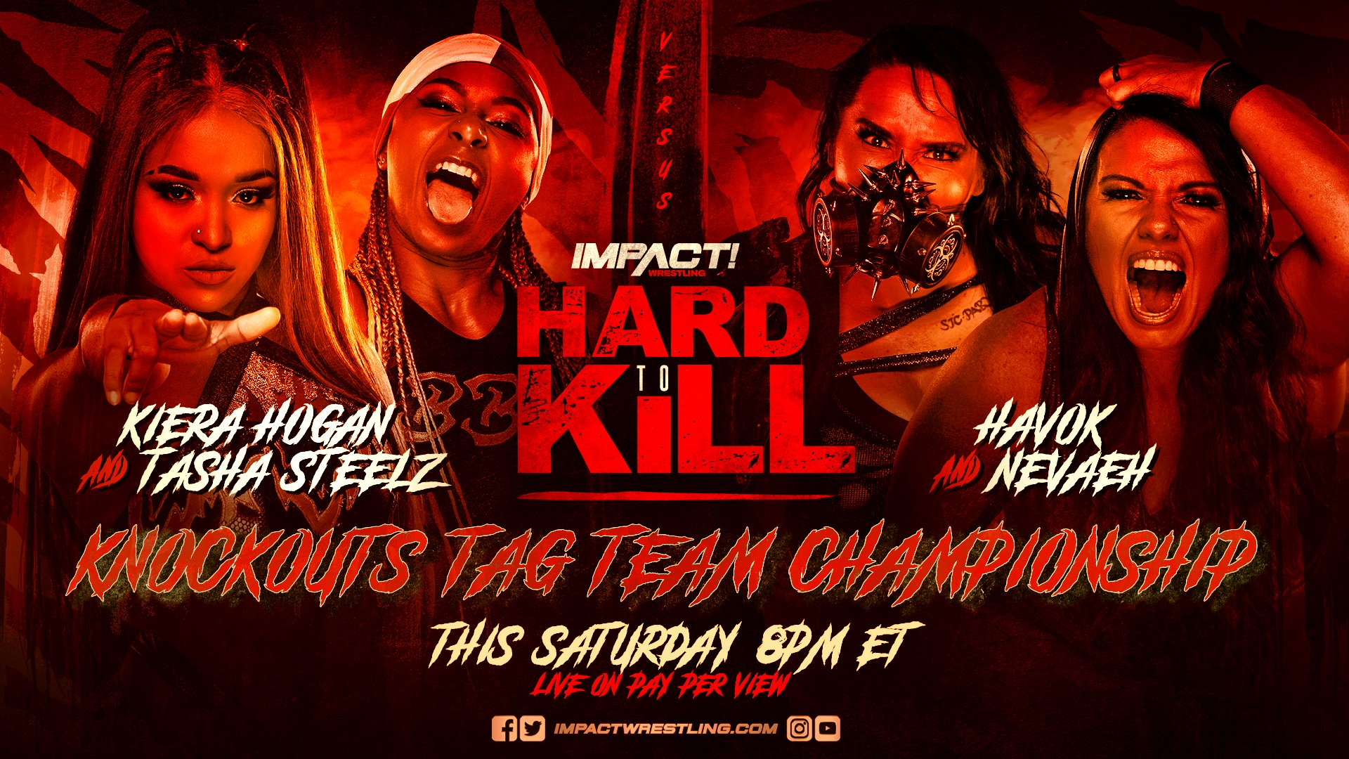 Kiera Hogan Tasha Steelz Havok Nevaeh