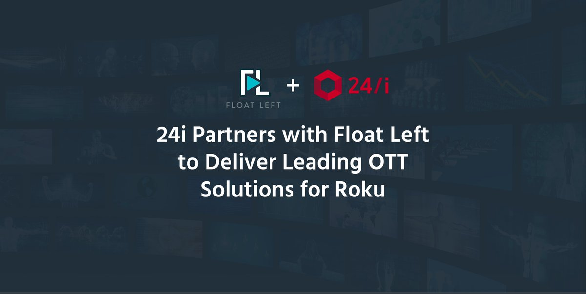test Twitter Media - RT @fairmilewest: 24i integrates Float Left Roku framework with its app platform https://t.co/Lhaqp5g2ZU https://t.co/uDJzpfnvdk