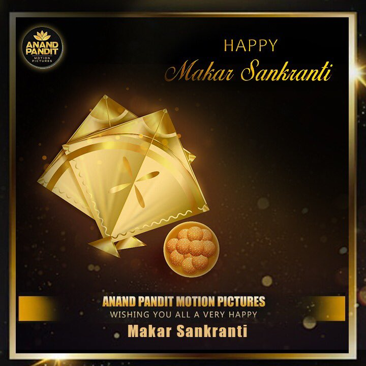 May the sun radiate peace, prosperity, and happiness in your life forever and ever. Wishing you a joyous and Happy Makar Sankranti. @anandpandit63   #AnandPandit #AnandPanditMotionPictures #APMP #makarsankranti #makarsankranti2020 #happymakarsankranti