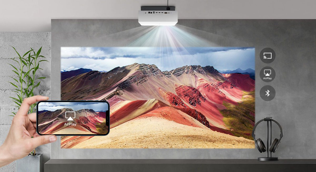 Replying to @verge: LG's latest 4K laser projector supports AirPlay 2 for $2,999