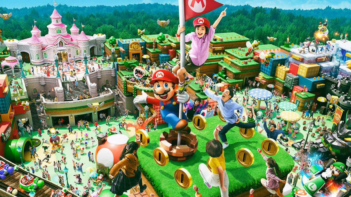 The opening of Super Nintendo World in Japan at @USJ_Official has been delayed past February 4. No new date set.