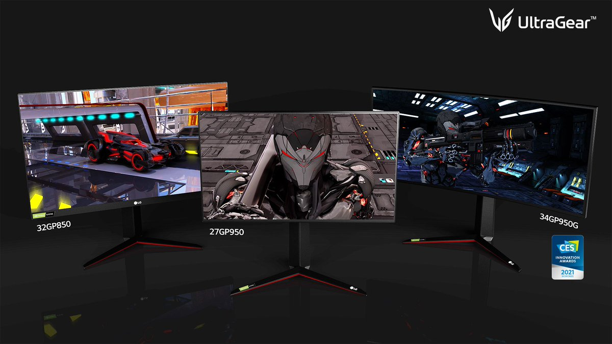 LG's new batch of gaming monitors includes 4K / 144Hz panel with HDMI 2.1 trib.al/FPYliO1