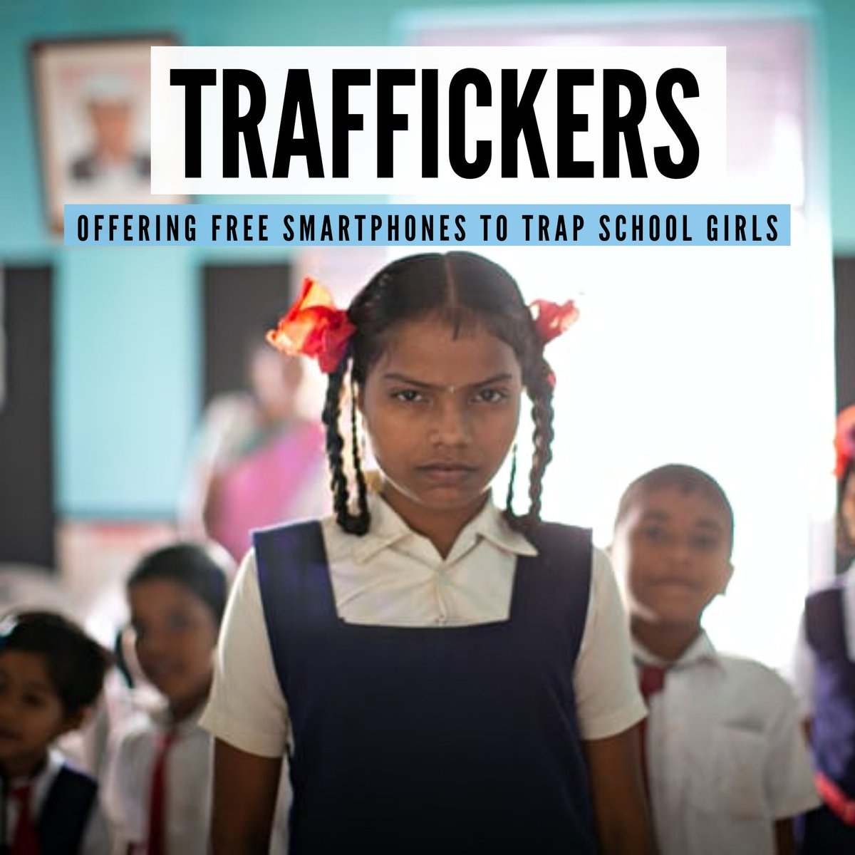 #Traffickers found an opportunity to exploit #minor girls during the #pandemic by offering them free #smartphones. Desperate to join online classes, they accepted the offers and eventually fell into the traps laid by them, resulting in a number of school girls being #trafficked