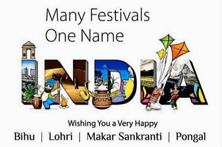 Wish you a very happy Pongal/ Makar Sankranti/ Lohri/ Bihu. #Pongalopongal #MakarSankranti #Bihu #Lohri