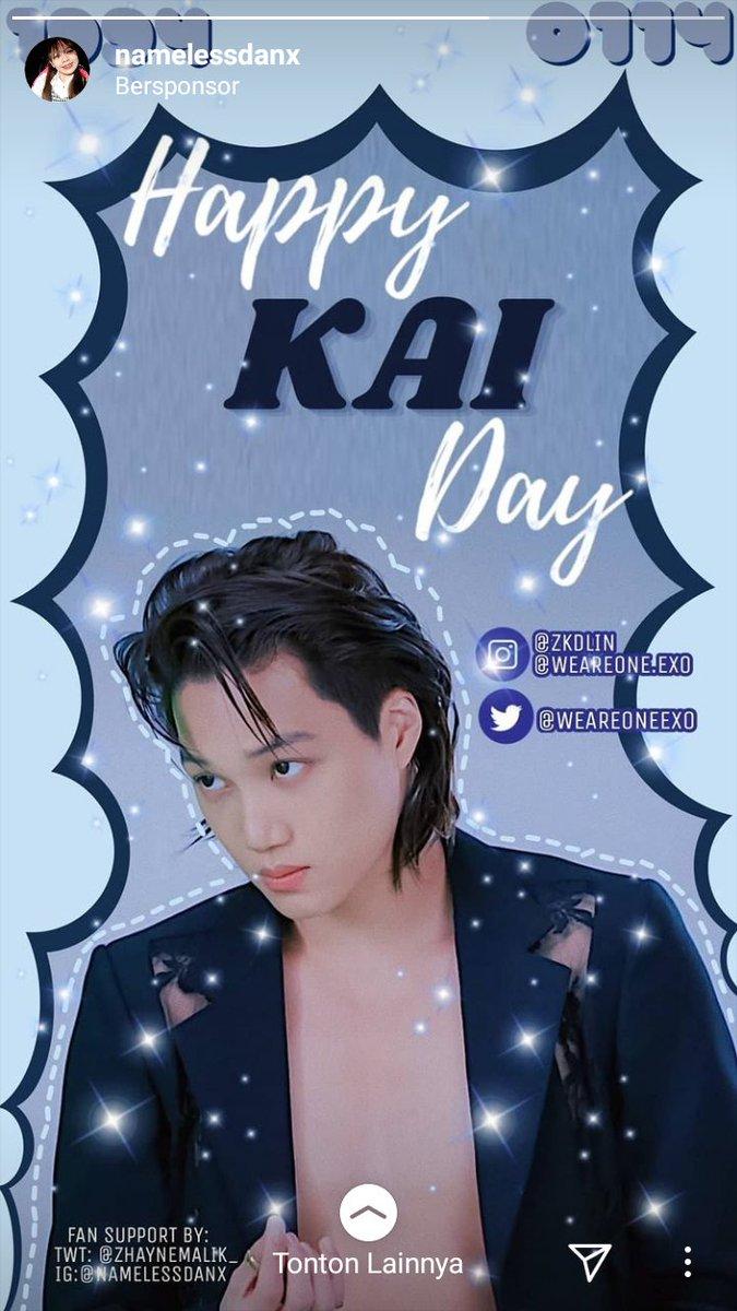 Thank you @ZhayneMalik_ @withkimjongin88 💞  #ArtistKaiDay  #HappyKaiDay #종인아생일축하해 #가장_따뜻한_겨울_카이데이 #KAI @weareoneEXO