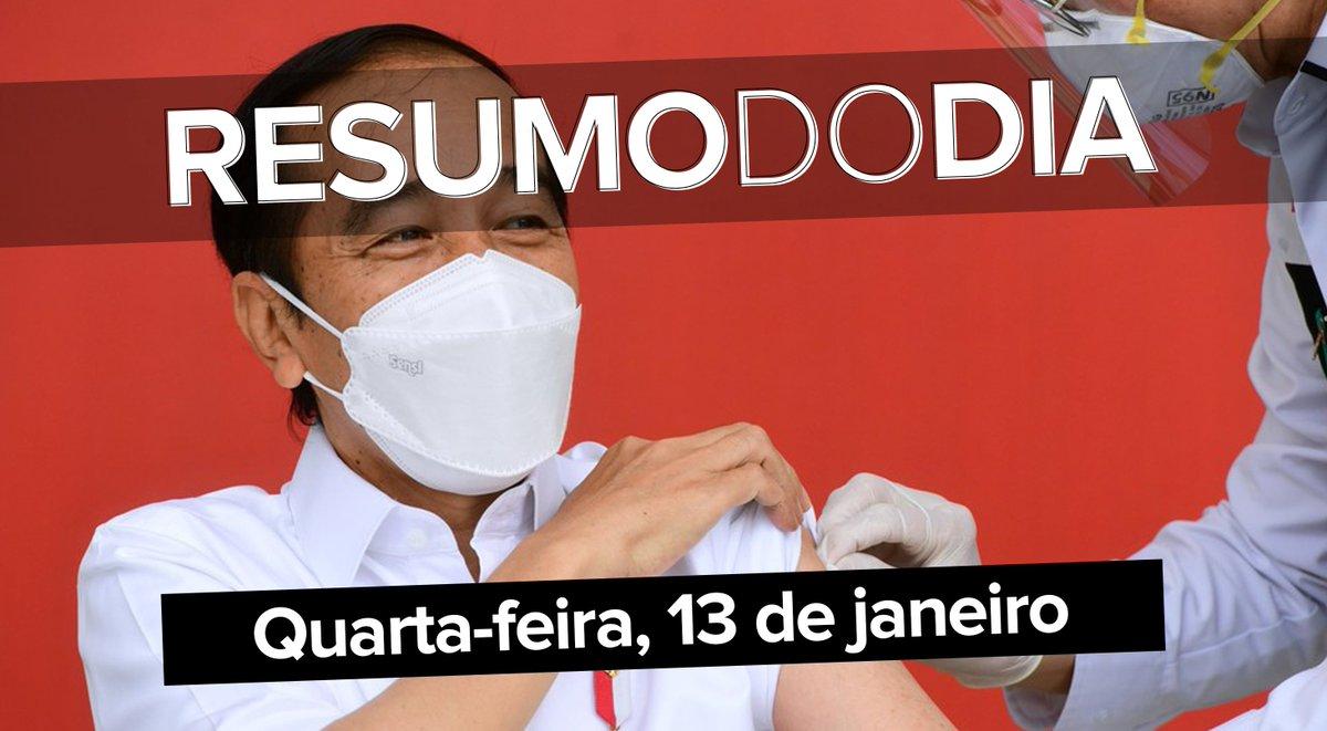 Indonésia inicia campanha de vacinação contra a Covid-19 com a CoronaVac, Pazuello diz que doses da vacina de Oxford chegam ao Brasil no sábado, as máscaras com amplificador de voz na CES, e as novidades do BBB; o que foi notícia hoje ==>  #G1 #ResumoDoDia