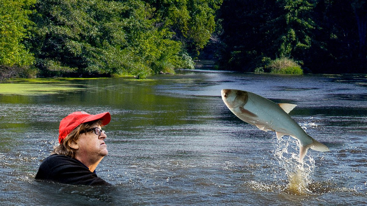 Michael Moore Questions Asian Carp On Role In Destroying Ecosystems In First Nature Documentary
