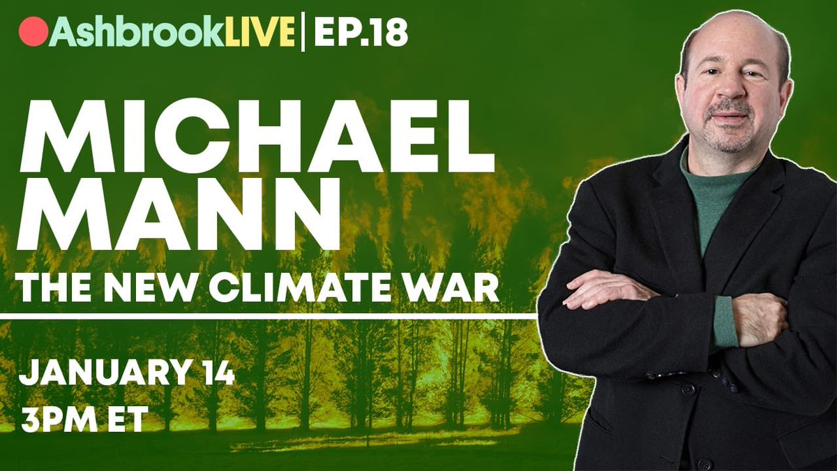 Will be talking about The #NewClimateWar with @TomAshbrook tomorrow (Thursday) 3pm ET (streams on @Facebook live: https://t.co/7filig78iu) https://t.co/H0ZzHb2hpN