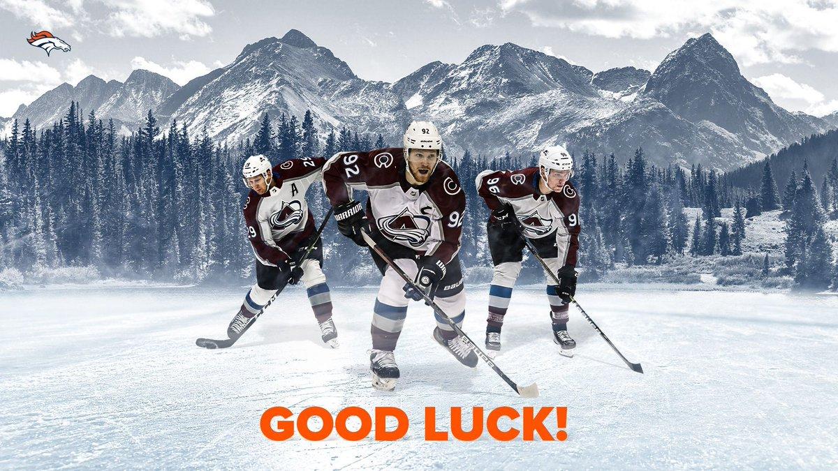 Good luck this season, @Avalanche! 👊 #GoAvsGo