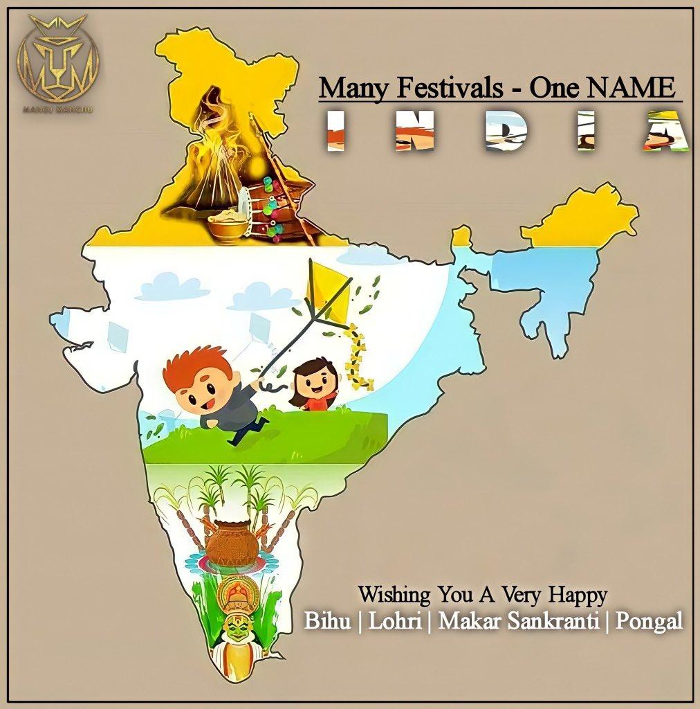 @thekiranbedi Happy makara Sankranthi madam...🙏