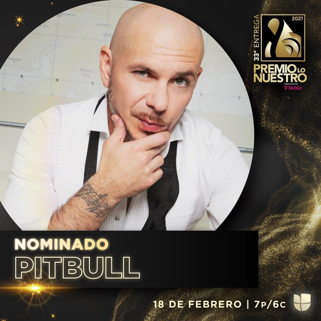 """¡Felicitaciones, @pitbull! 3️⃣ nominaciones a @premiolonuestro:  𝗖𝗼𝗹𝗮𝗯𝗼𝗿𝗮𝗰𝗶𝗼𝗻 """"𝗖𝗿𝗼𝘀𝘀𝗼𝘃𝗲𝗿"""" 𝗗𝗲𝗹 𝗔𝗻𝗼 — 𝙈𝙚 𝙌𝙪𝙚𝙙𝙖𝙧𝙚 𝘾𝙤𝙣𝙩𝙞𝙜𝙤 & 𝙎𝙪𝙗𝙚𝙡𝙤 (𝙁𝙪𝙧𝙩𝙝𝙚𝙧 𝙐𝙥)  𝗖𝗮𝗻𝗰𝗶𝗼𝗻 𝗗𝗲𝗹 𝗔𝗻𝗼 — 𝙈𝙚 𝙌𝙪𝙚𝙙𝙖𝙧𝙚 𝘾𝙤𝙣𝙩𝙞𝙜𝙤 🔥🏆"""