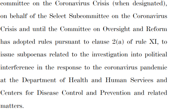 Oh but they're not just any subpoenas.  They're on the #Census2020.  Because Trump and on #COVID, because Trump.  If they keep indicting Republicans, that will prevent them from running again and prevent them from ever getting the House back. @ClastonB