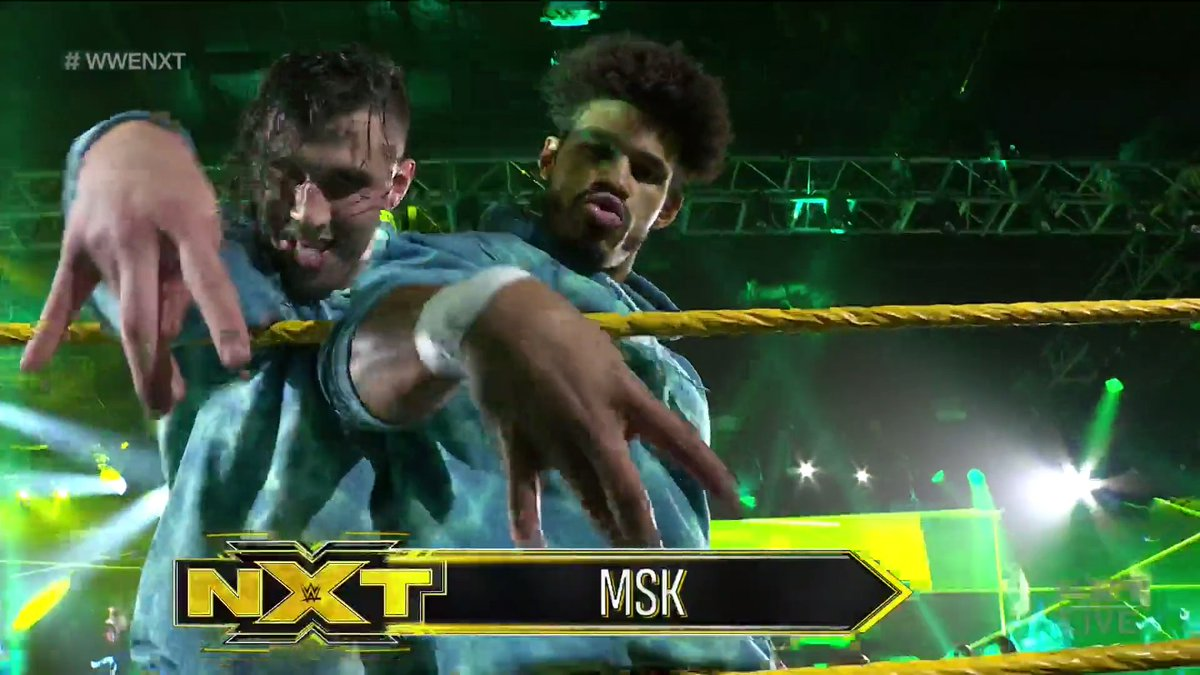MSK On Their NXT Debut, The Miz - Royal Rumble Spot