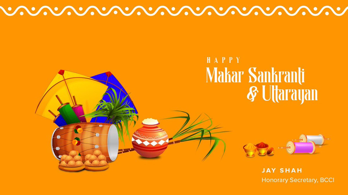 Greetings and best wishes on the occasion of Sankranti & Uttarayan. May this festival strengthen the bond of love and harmony around us.