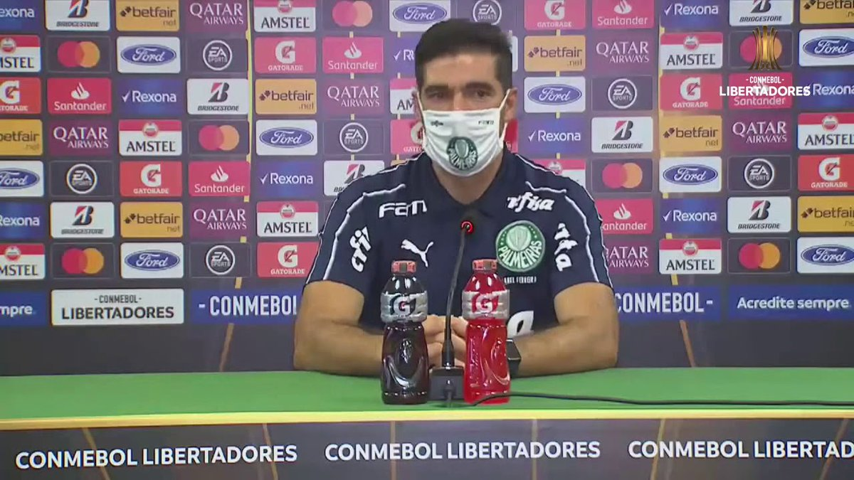 Conferencia de Prensa   Palmeiras vs. River Plate   CONMEBOL Libertadores - https://t.co/9eFpyvlua7 https://t.co/JDuUwzvi5A