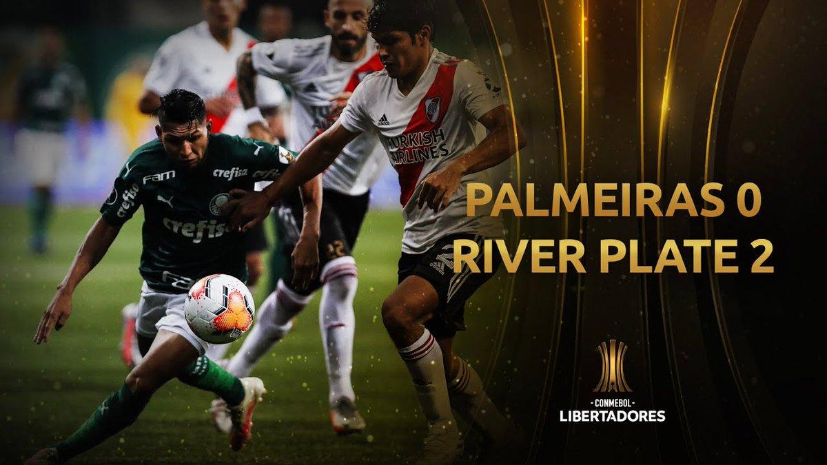 Palmeiras vs. River Plate [0-2]   RESUMEN   Semifinal   VUELTA   CONMEBOL Libertadores - https://t.co/Cqor8M4dQj https://t.co/rvyiqmLzO5