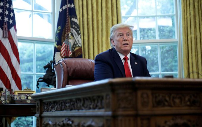 Trump bolsters ban on US investments in China Photo