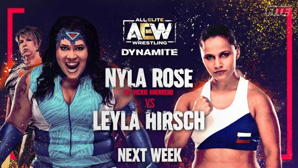 Next week on Dynamite (2/2)  #AEWDynamite is available on  in select intl markets from #FITE