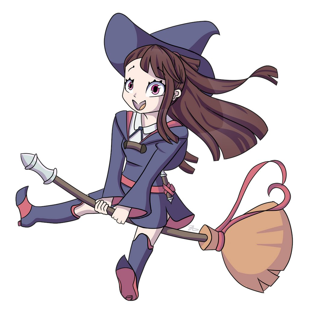 @AnderDragon76 I drew Akko once like 4 years ago, so it's probably about time for a re-draw 😭