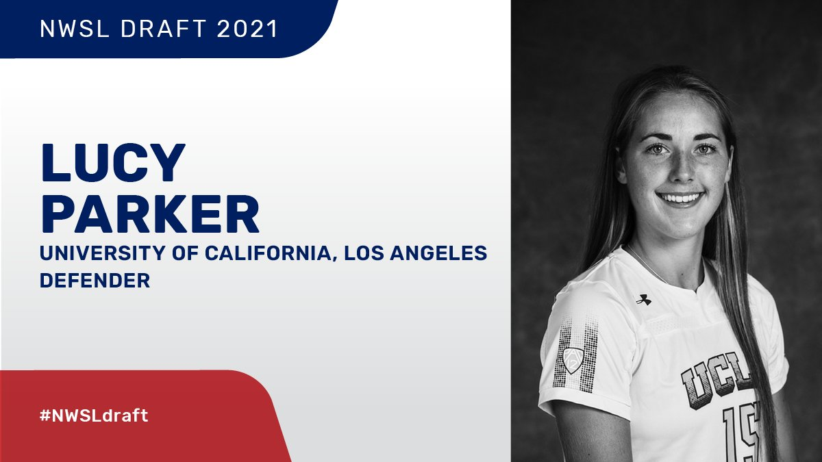 RT @NWSL: With the 16th pick in the 2021 NWSL Draft...  @KCWoSo selects: Lucy Parker from UCLA   #NWSLDraft https://t.co/fnx3mxJdls