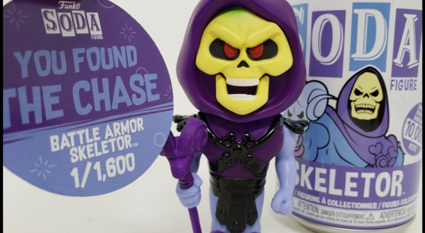 #Funko #Soda #Skeletor! I found the chase variant! #Toys #Collecting #ActionFigures #Dolls #ActionDolls #Vinyl #Funkos #MOTU #MastersOfTheUniverse #HeMan #BattleArmorSkeletor #WednesdayVibe #YouTube #EvilSkeletoys