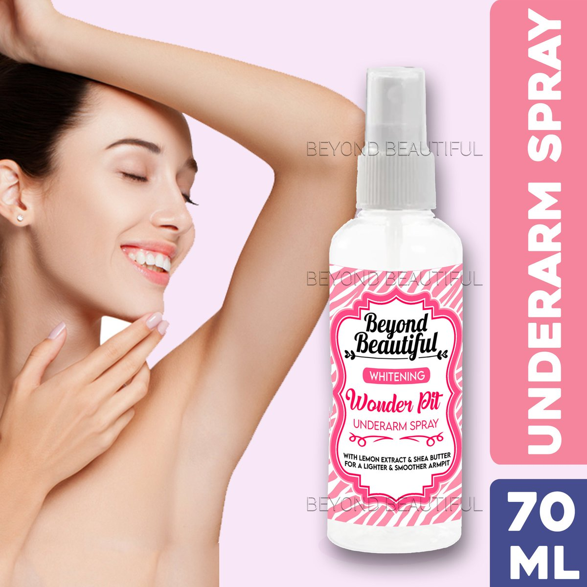 ‼️Beyond Beautiful Underarm Whitening Spray Deodorant‼️ 🛒SHOP NOW!➡  🛒SHOP NOW!➡  ₱59  🚚Cash on Delivery 🚚Nationwide Delivery  **Price is subject to change without prior notice  #LazadaPH #NasaLazadaYan #pinaykilikili