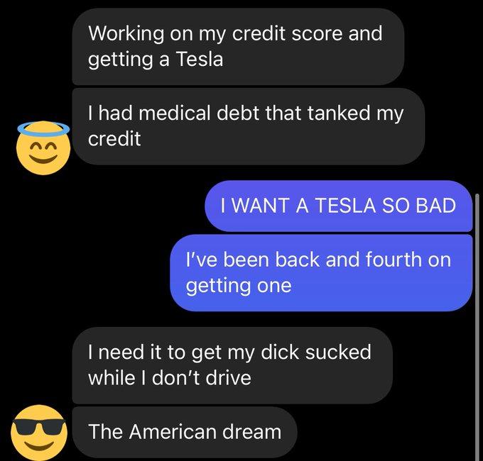 The American dream he said https://t.co/y8Xcg7nVyu