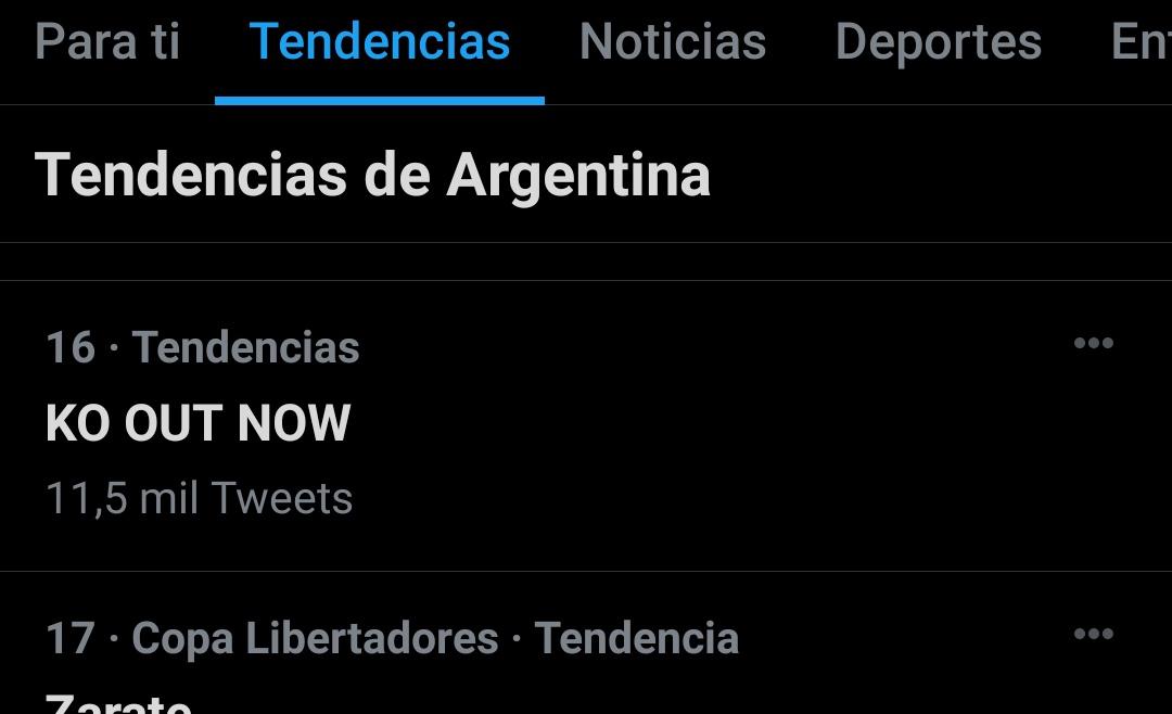 KO OUT NOW Foto,KO OUT NOW está en tendencia en Twitter - Los tweets más populares