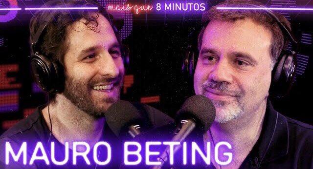 Tá no ar o meu papo com um dos maiores jornalistas esportivos do país: Mauro Beting! 🙌🙌🙌