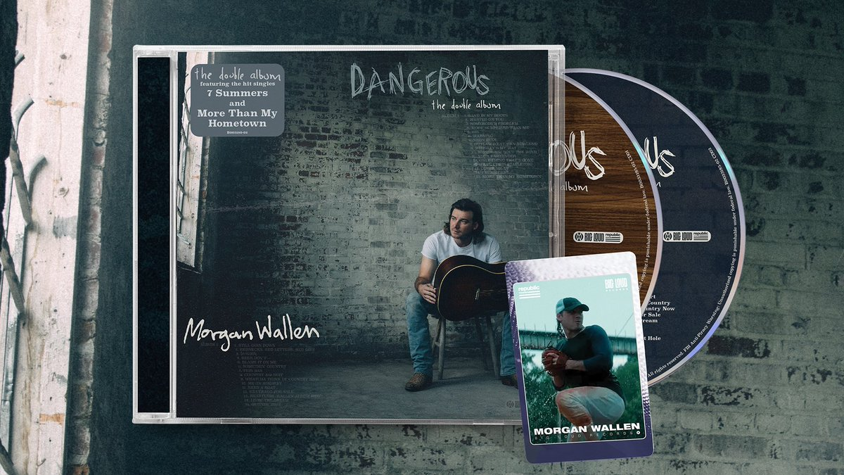 We did something special for the indie edition of Morgan's #DangerousDoubleAlbum You can head to your local record store to grab a collectible baseball card that comes with the CD now:  – Team MW