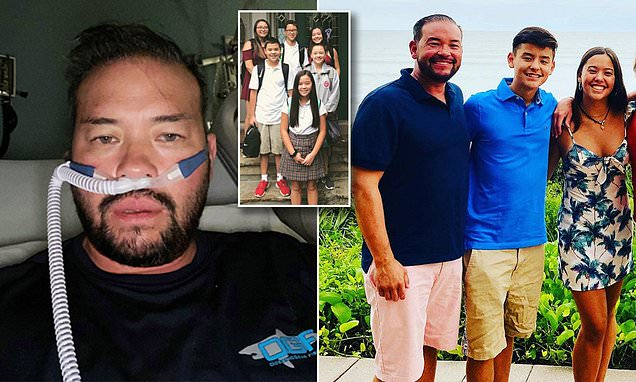Jon Gosselin reveals he was hospitalized for COVID-19 and close to being put on a ventilator Photo