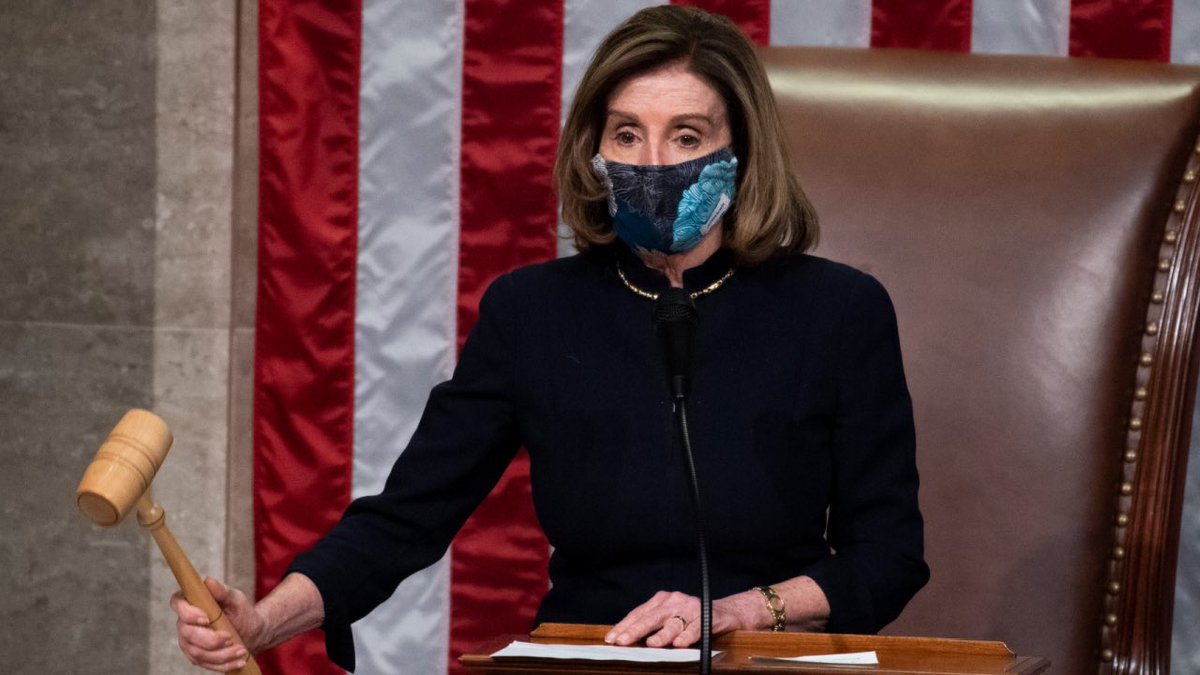 NANCY PELOSI HAS AN OFFICIAL IMPEACHMENT OUTFIT