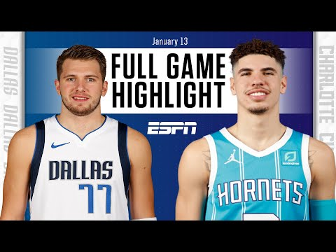 #e_RadioUS Dallas Mavericks vs. Charlotte Hornets [FULL GAME HIGHLIGHTS] | NBA on ESPN https://t.co/lXQSDfwWRX https://t.co/aBkbG854VU
