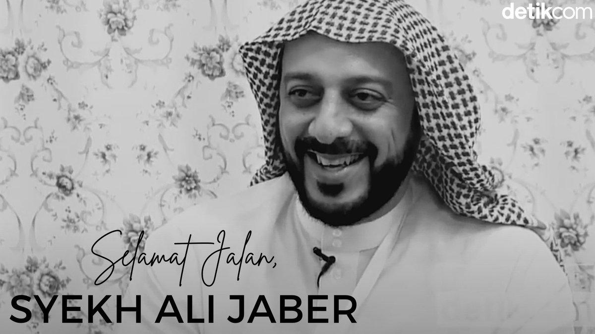 #THREAD  Kabar duka datang dari pendakwah Syekh Ali Jaber. Syekh Ali Jaber wafat.  Baca rangkaian beritanya di sini 👇