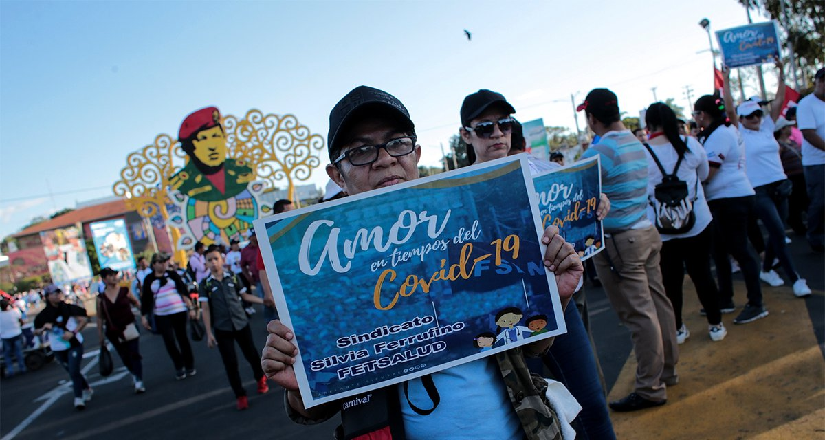 """Nicaragua #Rights2021: """"Since taking office in 2007, the government of President Daniel Ortega has dismantled nearly all institutional checks on presidential power."""""""