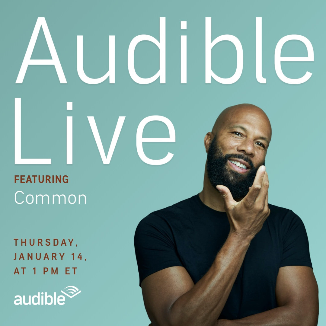 Join me Thursday Jan 14th at 1pm ET for a live conversation with @audible_com  editor Abby West.  Link here: