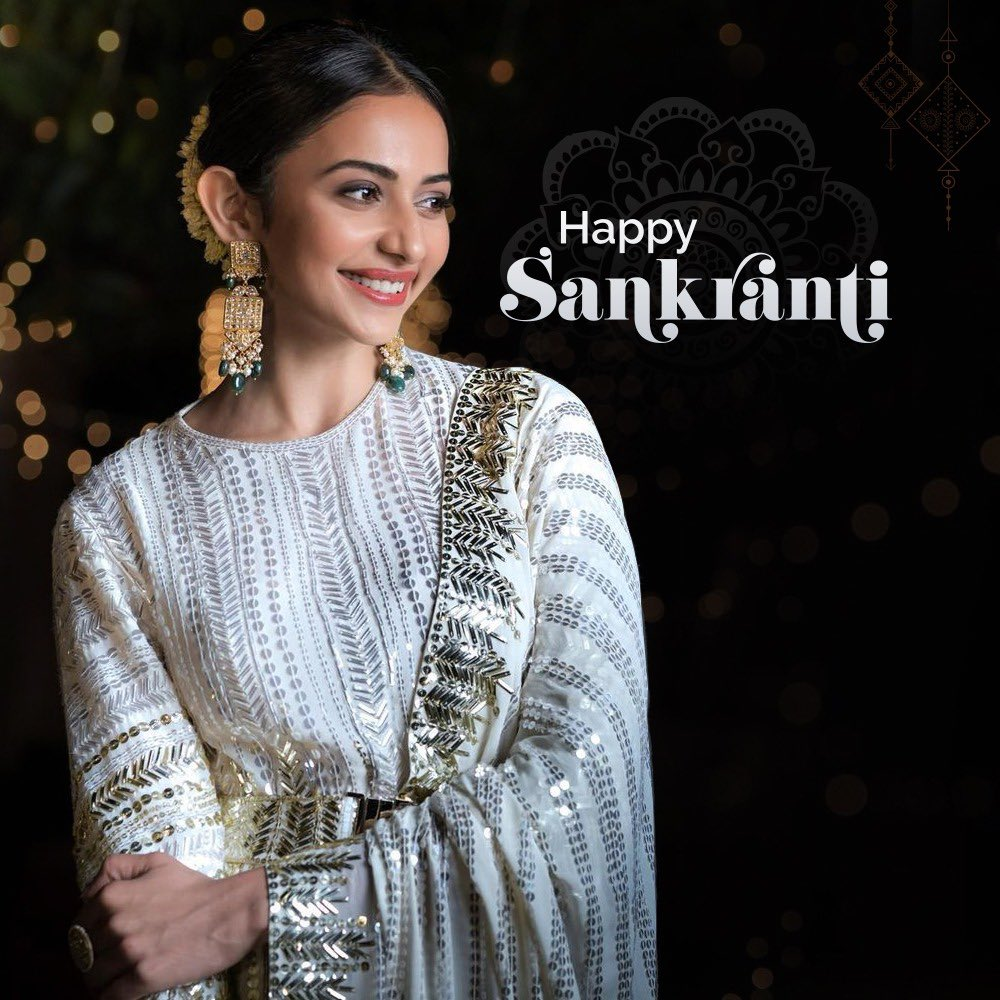 To all of you 😃 Happy Sankranti ❤️❤️