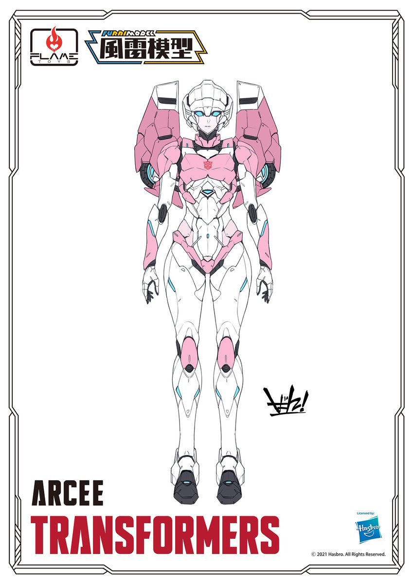 ""\ New item information ⑤!! //  Today from 『Furai Model』 .......  """"New items"""" announced !!  『 [Furai Model] Arcee 』!!!!!!😍😍  Published color illustrations.  #FLAMETOYS #Transformers  #風雷模型 #Arcee""849|1200|?|en|2|f804c36b94e17037d36ab78286e552b4|False|UNSURE|0.4013157784938812