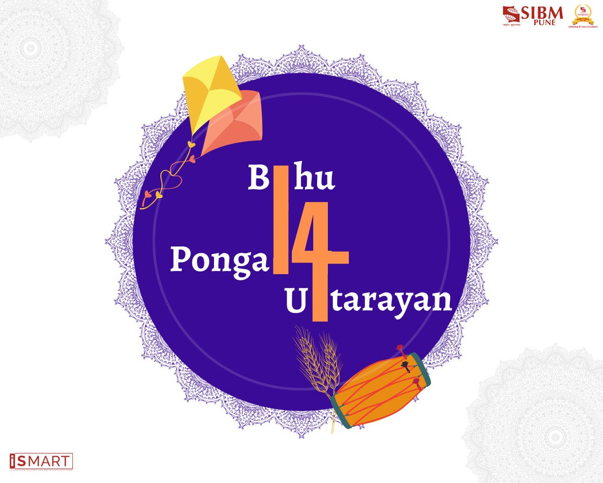 As the sun shifts its solstice and the country marks the end of winter, we celebrate the onset of the ceremonious harvesting festival and the joyous festival of kites.  SIBM Pune wishes everyone a very Happy Uttarayan, a Prosperous Pongal, and a Cheerful Bihu.  #SIBMPune https://t.co/1diPIjiPL6