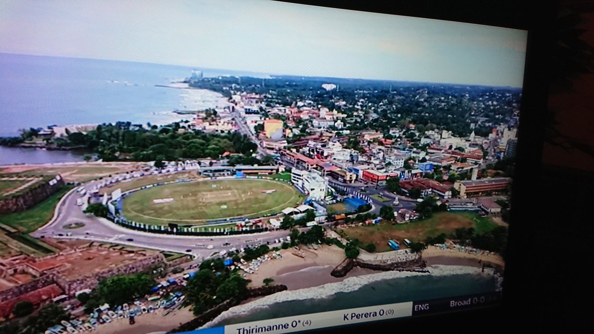 Having done every England tour since 2001 it seems weird to be watching this from the UK. Absolutely love Galle, the city, the people, the surrounding area. But that's the way it goes. Will be back. #SAvEng
