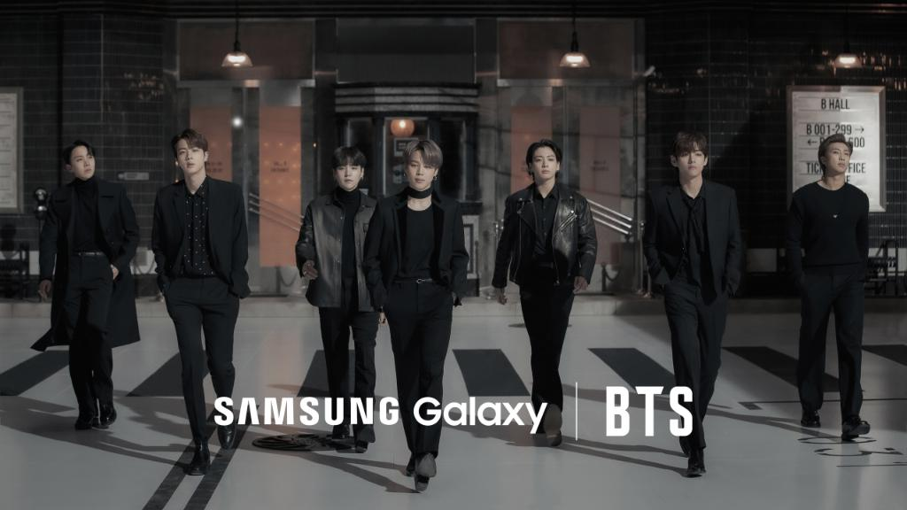 You already know what's going down. #SamsungUnpacked starts soon at  #GalaxyxBTS