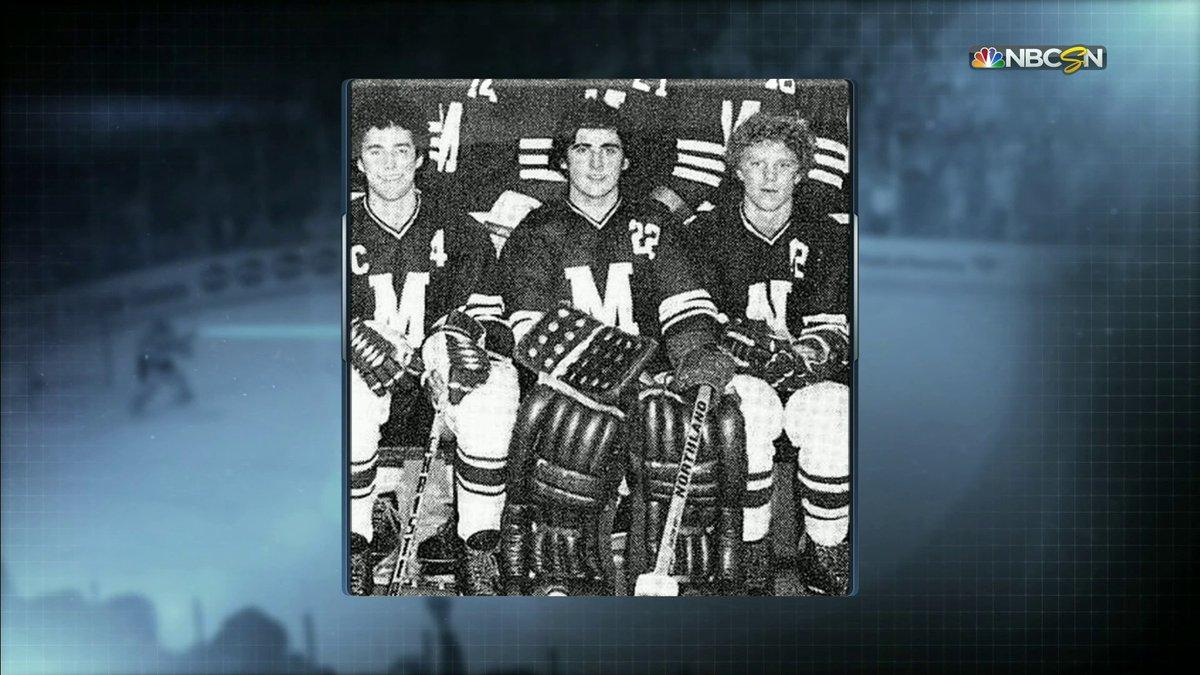 Steve Carell was a goalie before he became an actor.   #NHLFaceOff   @SteveCarell