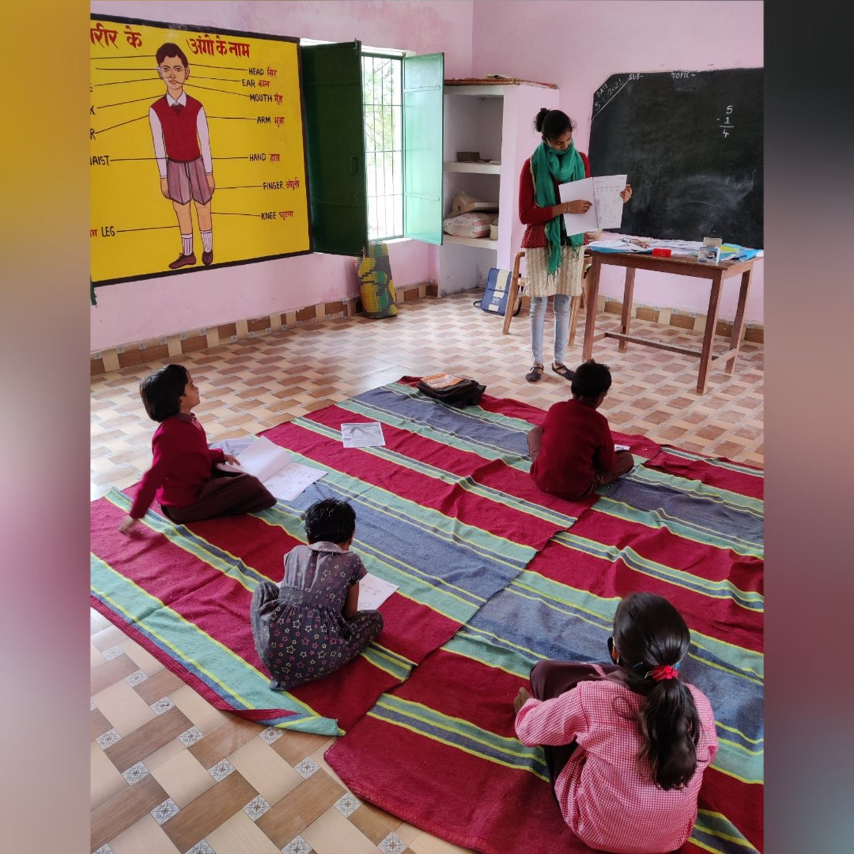 This new year we continue to work with children on their #foundationallearning with learning workbooks as the school continues to be shut.  Support our work by contributing-   #educationforall #ruralindia #foundationaliteracy #thechildrenoftheworld #Upkram