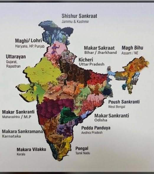 Makar Sankranti with many names is our NATIONAL FESTIVAL in India