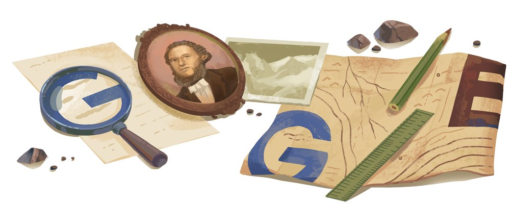 Russian geographer & statistician Petr Semenov-Tian-Shanky's achievements are set in stone. Literally!   As one of the 1st western scientists to explore Asia's Tian Shan mountains, he has multiple peaks in the range named in his honor 🏞  #GoogleDoodle →