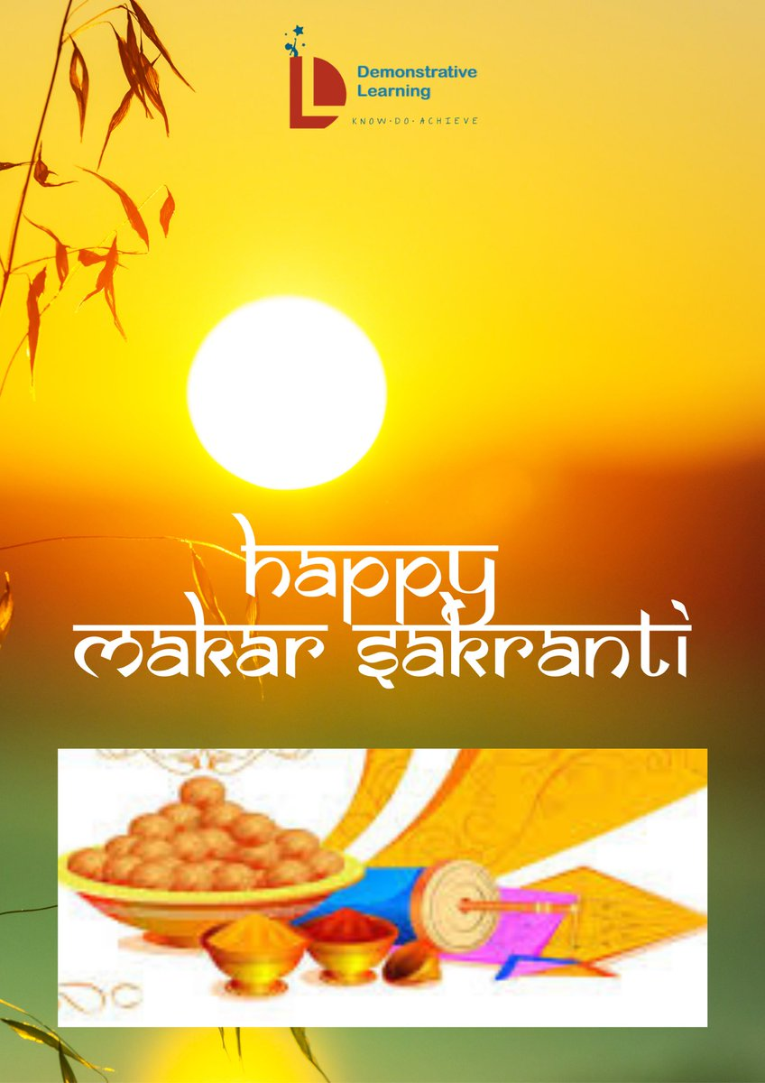 We wish you all a Happy Makar Sakranti! 🌞