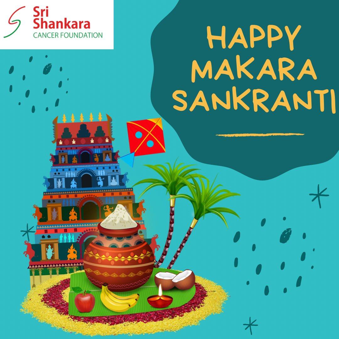 Sri Shankara Cancer Foundation wishes everyone a happy Makara Sankranti!
