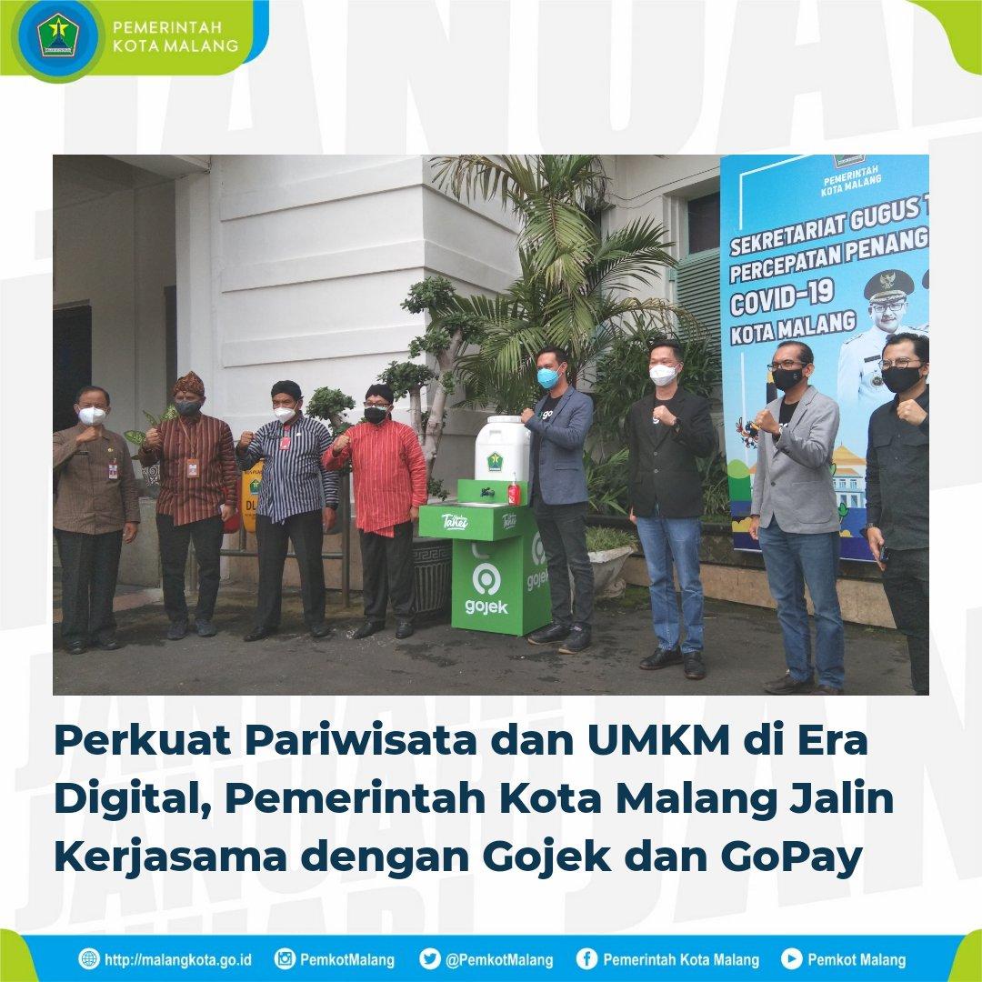Pemkot Malang resmi kerjasama dengan Gojek (Foto via Twitter @PemkotMalang)
