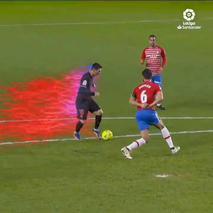 Leo Messi 𝘯𝘦𝘷𝘦𝘳 fails to impress... 🐐  💙 @FCBarcelona ❤️  #LaLigaSantander | #YouHaveToLiveIt